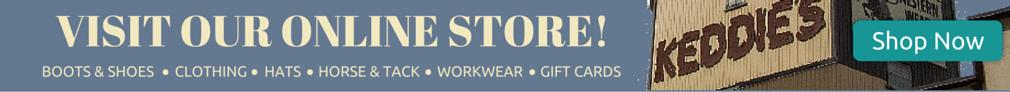 Keddies Online Store Banner